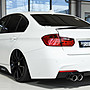 【樂駒】RIEGER BMW F30 F31 rear skirt in...