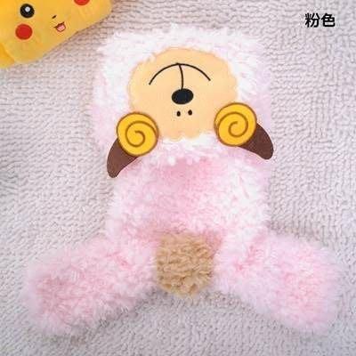狗狗衣服 秋冬寵物衣-保暖舒適可愛棉羊寵物用品3色73ih70[獨家進口][米蘭精品]