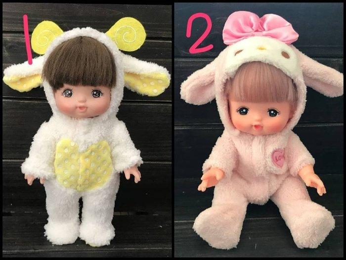 【小黑妞】小美樂巧虎妹妹30公分以下娃娃皆可穿衣服-美樂蒂連身服/可愛小羊連身服(不含娃娃)【現貨】