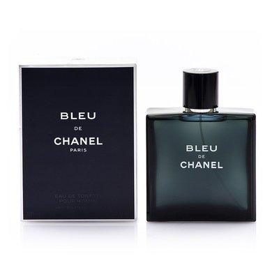 CHANEL 香奈兒 藍色男性淡香水 100ml bleu EDT~正品附發票【恒色】
