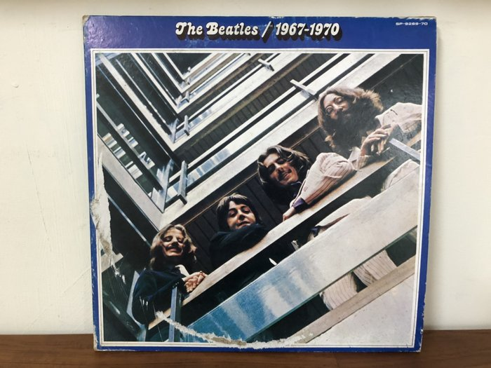 華聲唱片-黑膠LP/The Beatles/1967-1970/雙片裝/Hey Jude/Revolution