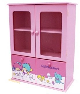 雙子星 雙門雙抽收納櫃 Little Twin Stars Locker リトルツインスターズ ロッカー TS-0150