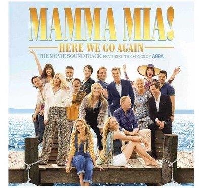 合友唱片 電影原聲帶 / 媽媽咪呀!回來了 Mamma Mia! Here We Go Again OST (CD)