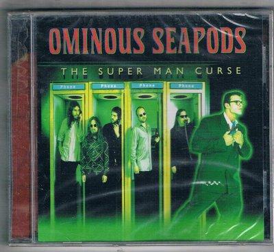 [鑫隆音樂]西洋CD- OMINOUS SEAPODS /The Super Man Curse/全新/免競標