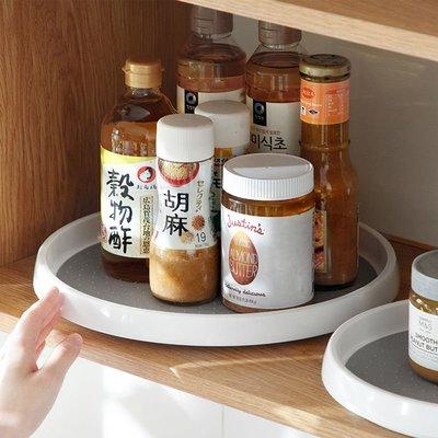 廚房調料品架子可旋轉托盤油鹽醬醋桌面置物盤收納盤置物盤收納盤