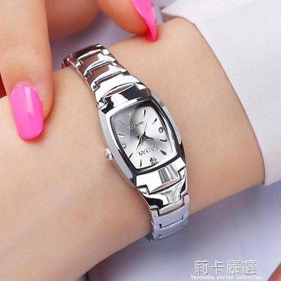 手錶女學生韓版簡約防水超薄潮流女士手錶送禮品石英錶女錶QM