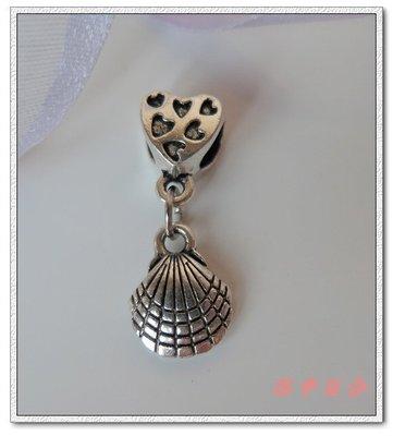 Φ小姿族ΦDIY專屬自己的創意手鍊 立體雕花貝殼串飾 DIY創意 展現個性 表達自我專屬手鍊 古銀色款 滿1000免運費