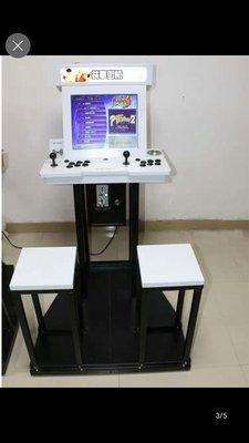 簡约金屬款街機遊戲機組合月光寶盒12