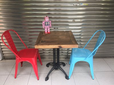 【 一張椅子 】商空愛用 Vintage 復古仿舊工業風 四爪鑄鐵餐桌 書桌