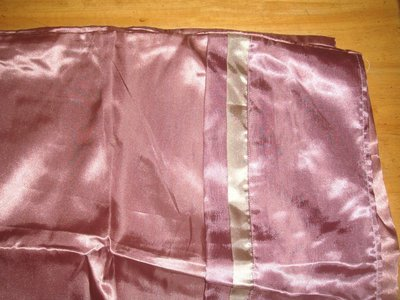 ==YvH==PillowCase Silk 豆沙粉 人造絲緞信封型薄枕套 精緻版 全絲緞 一般枕心用 (現貨)