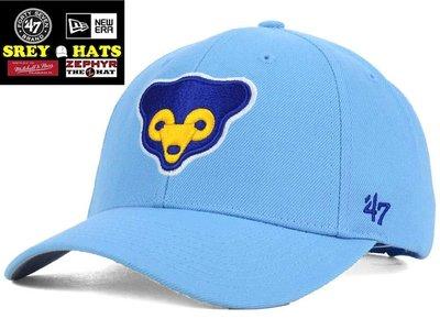 [SREY帽屋]預購*47 Brand MVP MLB 芝加哥小熊 CUBS 70年代LOGO 硬挺版型 棒球帽 老帽