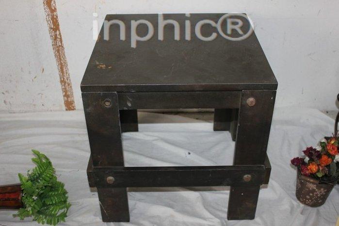 INPHIC-仿舊木質工藝凳子 換鞋凳