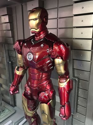 Hot toys iron man mark3 special edition 低褲重噴 專業