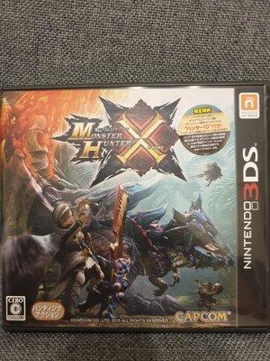 3ds   魔物獵人X (MHX) 日版 二手