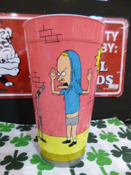 (I LOVE樂多)MTV 癟四與大頭蛋塑膠杯(A款) BEAVIS AND BUTT-HEAD