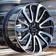 【田中輪胎館】 類原廠 Range Rover 專用 22吋 9J 鋁圈 鑄造/鍛造