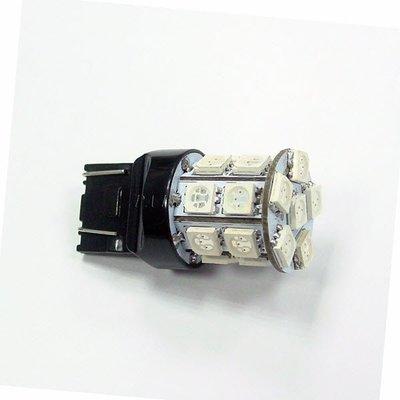 【PA LED】T20 7440 單芯 20晶 60晶體  SMD LED 藍光 後燈 方向燈 後霧燈 360度發光