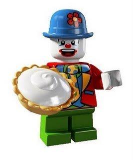 絕版品【LEGO 樂高】玩具 積木/ Minifigures人偶包系列: 5代 8805 單一人偶: 小丑 Clown