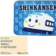 GIFT41 4165本通 長安門市 新幹線地墊 SS-0032