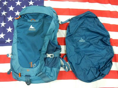 Gregory Z25 Ventilated Hiking Backpack Prussian Blue 藍色登山背包