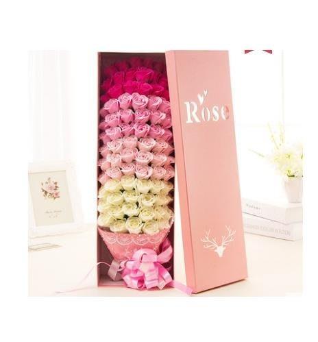 520情人節香皂花禮盒肥皂花創意禮品生日禮物玫瑰花束情侶送女友