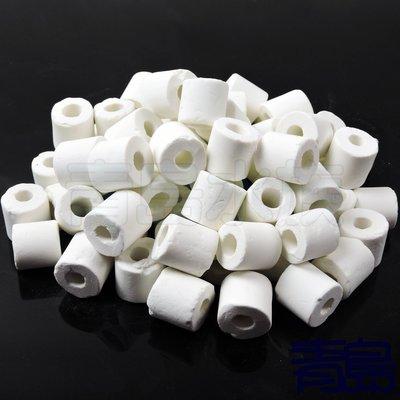 Y。。。青島水族。。。LC-AH-H-20KG店長嚴選---頂級呼吸 石英 玻璃 陶瓷環 (普通型)袋裝==20kg