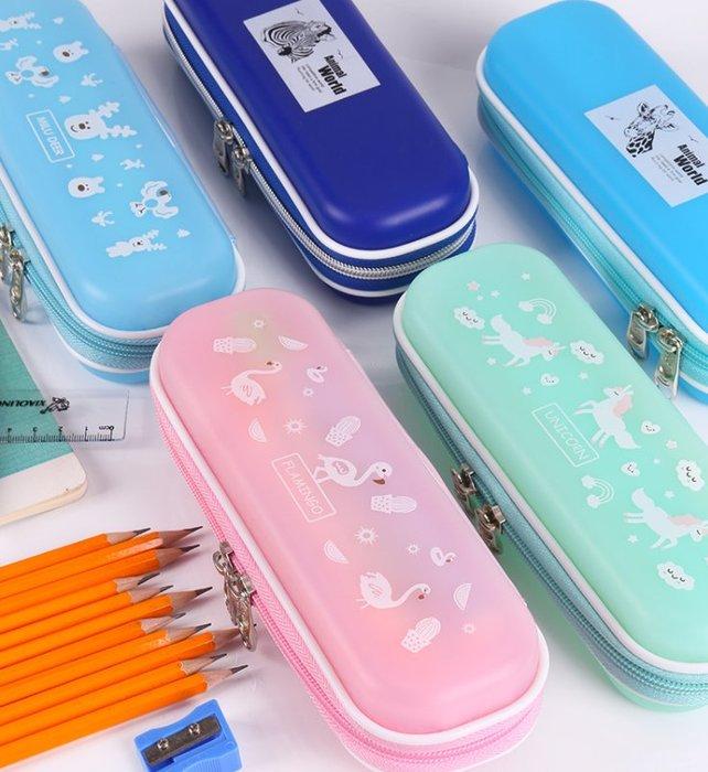 【好孩子福利社】學生防摔筆袋 小清新簡約大容量文具盒 防水防壓兒童鉛筆盒 多色選擇