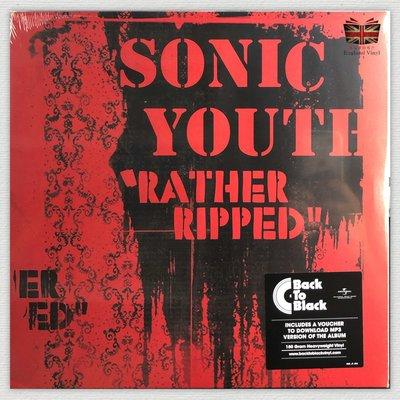[英倫黑膠唱片Vinyl LP] 音速青春樂團/加州唱片行 Sonic Youth / Rather Ripped
