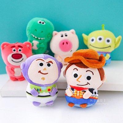 【媽媽倉庫】玩具總動員迷你軟QQ吊飾玩偶 吊飾 掛飾
