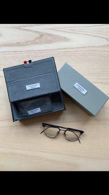 Thom Browne 少見半金框 眼鏡