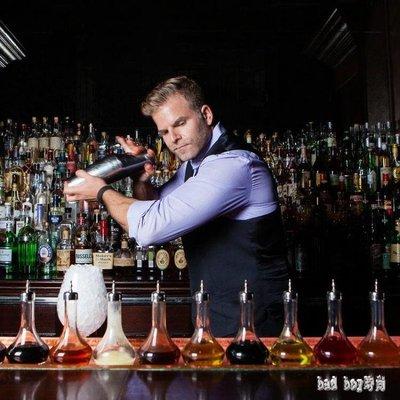 美式加底波士頓搖酒壺套裝 搖酒器 波士頓調酒器shaker LN298【bad boy時尚】
