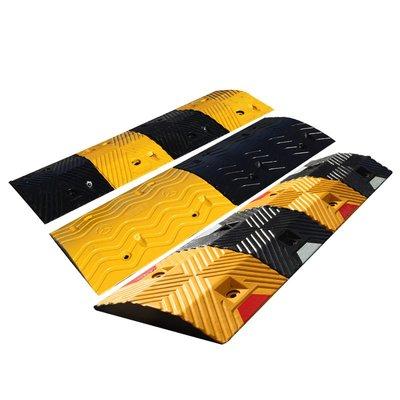 口袋魔法~品質橡膠減速帶限速板減震塊非機動車道專用寬度隔離帶#規格不同 價格不同##下標聯繫客服#