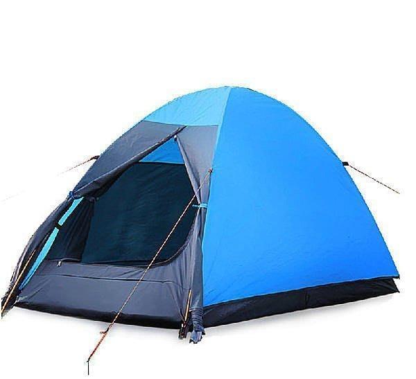 【優上精品】柯瑞普 單人帳篷雙層 戶外防風防暴雨鋁桿帳篷 超輕露營帳篷(Z-P3262)