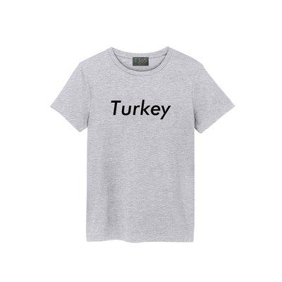 T365 Turkey 土耳其 歐洲 國家 潮流 T恤 男女可穿 多色同款可選 短T 素T 素踢 TEE 短袖 上衣