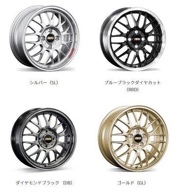 DJD19071824 日本BBS RG-F 15-16吋 1片式鍛造鋁圈 依當月報價為準