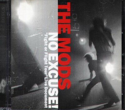 K - THE MODS - NO EXCUSE! Fight or Flight Tour - 日版 CD+DVD