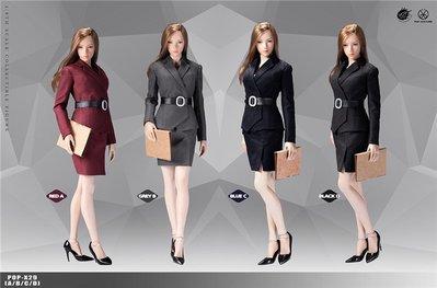 POPTOYS X29裙裝款X30長褲款多色可選1/6 辦公室女郎女士西服套裝