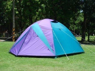 【SAMCAMP 噴火龍】豪華 6~8 人雙門銀膠蒙古包帳篷 - 抗紫外線不透光 / 隔熱佳