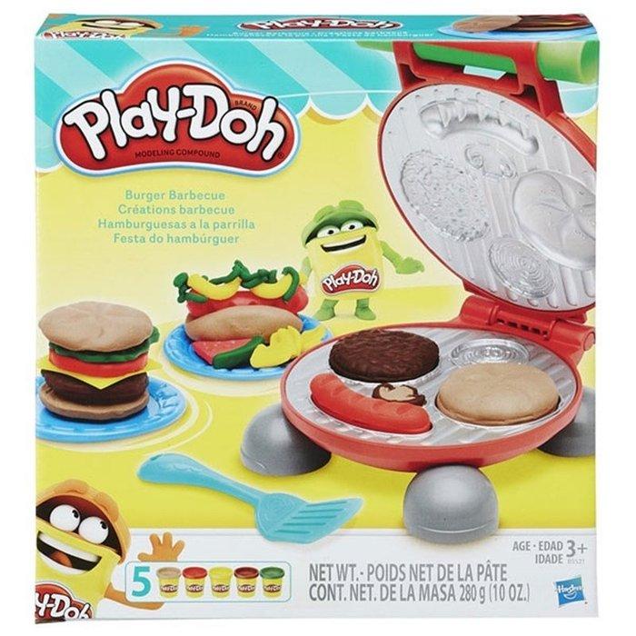 Play-Doh 培樂多黏土 美味漢堡遊戲組