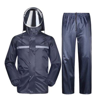雨具 雨衣 防水下雨天 雨衣雨褲套裝男...