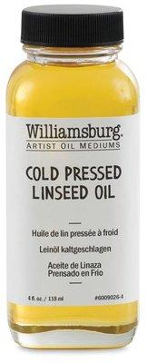 板橋酷酷姐美術!williamsburg cold pressed linseed oil 美國威廉斯伯格冷