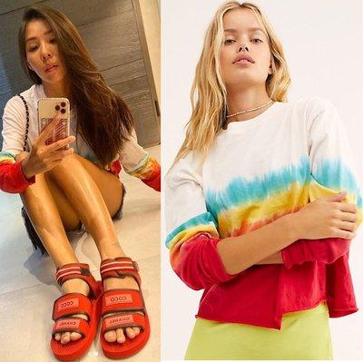 《Patty》代購 Lilian 同款  Daydreamer 渲染 長袖 寬鬆 上衣 共3色