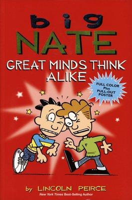 *小貝比的家*BIG NATE GREAT MINDS THINK ALIKE/漫畫版/平裝/7-12歲