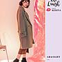 Grace gift x Kerina妞妞-素色針織圓跟襪靴 黑白 / 聯名 / 踝靴-38號