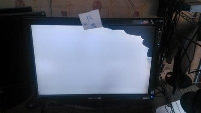 二手 中古 螢幕 液晶 瑕疵機 面板破 Hanns  Hg281 28吋 LCD 殺肉機 零件機