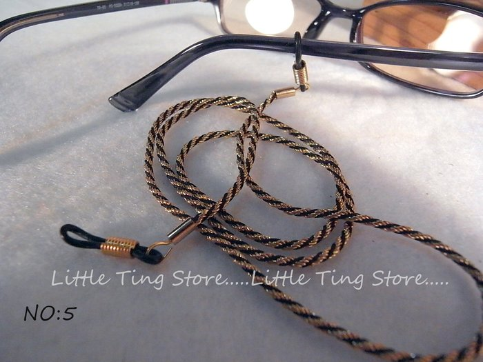 Little Ting Store: 外銷歐美 金色鎖鏈款眼鏡鍊太陽眼鏡繩/眼鏡帶/老花掛繩/眼鏡鏈180元 長輩禮物