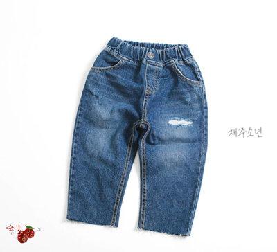 ✿啾米童裝♪~21秋~WITTY BOY~牛仔褲~WB0907-38【8折】【17-19售價為860】