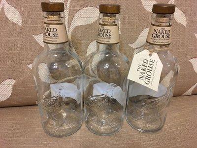 《瓶子控》裸雀初次雪莉桶威士忌 空酒瓶 釀酒釀醋  酒瓶切割DIY  特色餐廳可當冷水壼