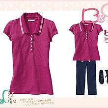 【B& G童裝】正品美國進口OLD NAVY桃紅色網狀短袖polo衫 M 號8-9yrs