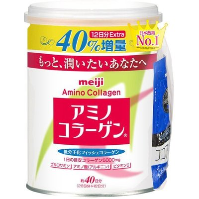 *╮維多莉亞花園╭*明治 膠原蛋白粉罐裝40日份